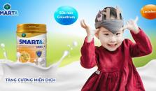 Gia đình sữa Smarta tăng cường dinh dưỡng toàn diện cho mẹ và bé